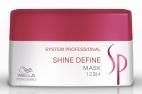 Wella System Professional Shine Define Mask 200ml Maska pro lesklé vlasy