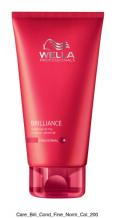Wella Professional Care Brilliance Conditioner Fine/Normal 200ml Kondicionér pro jemné barvené vlasy