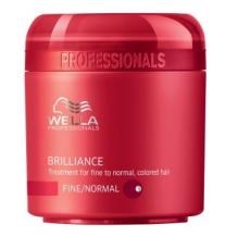 Wella  Professional Care Brilliance Mask Fine/Normal 150ml Maska pro jemné barvené vlasy