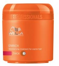 Wella Professional Care Enrich Mask Coarse 150ml Maska pro silné vlasy