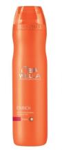 Wella Professional Care Enrich Shampoo Coarse 250ml Hydratační šampon pro suché silné vlasy