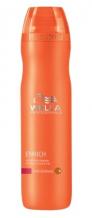 Wella Professional Care Enrich Shampoo Fine/Normal 250ml Objemový šampon pro jemné vlasy