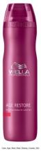 Wella Professional Care Age Restore Shampoo 250ml Šampon proti stárnutí vlasů