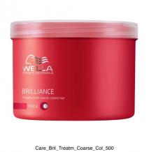 WELLA Brilliance Mask Coarse 500 ml