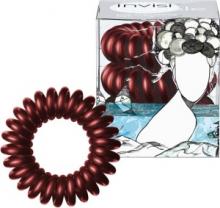 Invisibobble gumička do vlasů Burgundy Dream vínová 3 ks